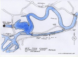 Thames Channel Map One